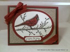 Christmas Cardinal Cherry Cobbler