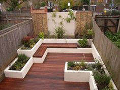 Nice layout of raised beds