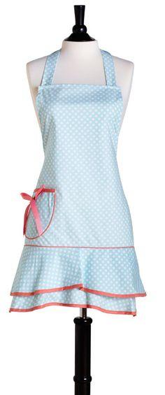 designer aprons | ... DOT LORETTA APRON: Designer Aprons-Thee Apron Gift Shop-Aprons Plus