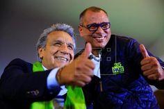 Ambos candidatos en Ecuador reclaman victoria en presidenciales. Visite nuestra página y sea parte de nuestra conversación: http://www.namnewsnetwork.org/v3/spanish/index.php #nnn #bernama #ecuador #quito #lenin #elecciones #presidenciales #latinoamerica #elsur #mercosur #noticias #ultimasnoticias