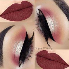 Gorgeous Makeup: Tips and Tricks With Eye Makeup and Eyeshadow – Makeup Design Ideas Cute Makeup, Gorgeous Makeup, Pretty Makeup, Simple Makeup, Edgy Makeup, Amazing Makeup, Natural Makeup, Makeup Goals, Makeup Inspo