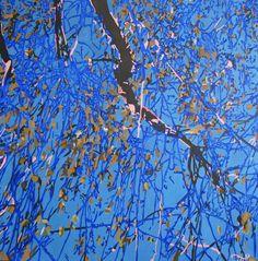 "Saatchi Art Artist Maria Sidljarevich; Painting, ""Looking for silence II"" #art"