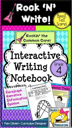 BTS (BOOST TEST SCORES) WRITING PROGRAM- an all-inclusive step-by-step writing program that has been proven to be 98% effective with exemplary scores! You will find 400+ pages of lesson plans, creative ideas, teaching slides, practice sheets, mentor texts, etc. It was specifically designed to follow through the WRITING PROCESS and model lessons for Narrative, Opinion, and Informative Writing. It is labeled with ALL of the 4TH GRADE Writing Common Core Standards and many Language Standards.