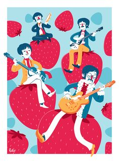 the beatles Funnel Cake funnel cake knoxville tn Beatles Poster, Les Beatles, Joey Chou, Beatles Party, Music Illustration, The Fab Four, Yellow Submarine, Paul Mccartney, Concert Posters