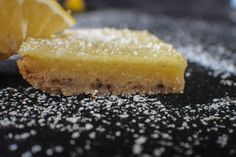 Valiant Brewing Lemon Bars with Spent Grain and Honeycomb Candy Honeycomb Candy, Lemon Bars, How To Double A Recipe, Cornbread, Baked Goods, Brewing, Pineapple, Grains, Cheesecake