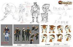 The Dork Review: NEW Thundercats Model Sheets