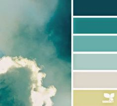 Sky #colour #decorate #paint Poppy Loves Pinterest: Colour Inspiration - time to decorate!