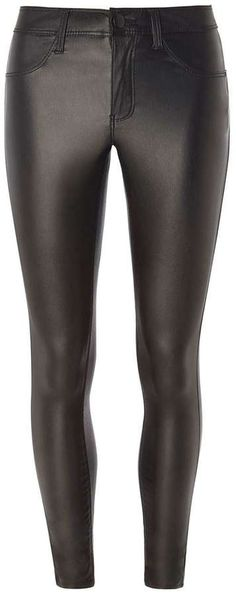 Petite Black Coated Frankie Jeggings Jeggings, Leather Pants, Just For You, Legs, Denim, Stylish, Clothing, Outfits, Black