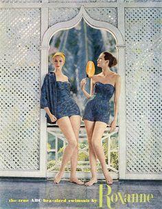 Lucinda Hollingsworth and Carmen Dell' Orefice, 1959