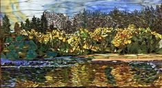 Fall Reflections 20 x 36