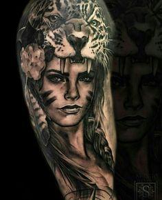 Tattoo by ig:sergiofernandeztattoo