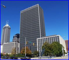 Sara is in a battle for her life with the mayor's wife, Rocsann Rush. Here is a picture of the City-County Building in Indianapolis where the mayor's office is located. I don't think Sara could have ever made it to his office to pled her case to him.