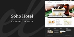 Soho Hotel – Responsive HTML Template - Themeforest – RIP