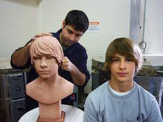 Custom portrait busts. www.pradoportraits.com/