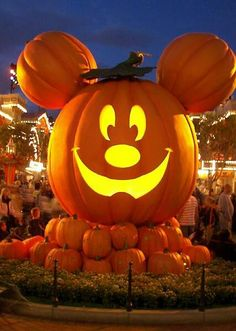 pumpkin mickey