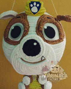 Piñata Rubble Paw Patrol...  Recuerden dar una vuelta por nuestra  tienda y checar los productos exclusivos que tenemos para su Halloween.