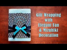 Materials: • Decorative paper to wrap a box (height: height of your box + 1.5~2 x the depth of your box / width: enough to wrap around your box + tape margin...