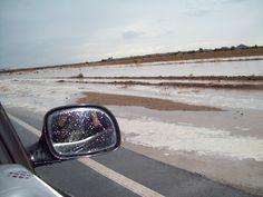 Monsoon Rain, July 2012 Monsoon Rain, Car Mirror, Places, Lugares
