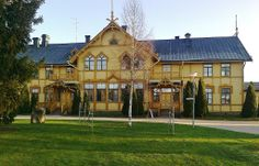 South-Ostrobothnia College old main building. - Ilmajoki, South Ostrobothnia province of Western Finland. - Etelä-Pohjanmaa,