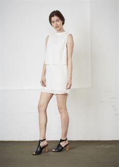 Show details for Katrine Dress - White