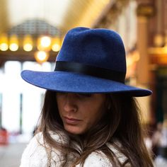 994e5a3b82d Complete your racing outfit with a stunning fedora hat from the amazing  milliner Kate Braithwaite