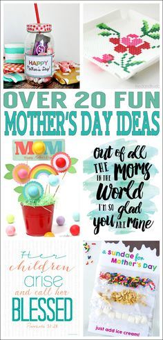 Over 20 Fun Mother's