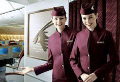 Qatar Airways : Uniforms vir jou lisa!!!!!!                                                                                                                                                                                 Mais