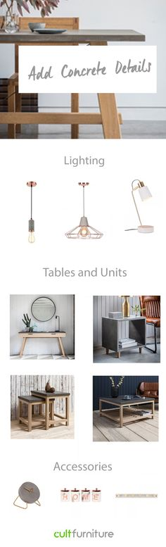 The rough-and-ready style is adaptable, with an ability to define both the home and office with an industrial edge. Take a look at our top concrete picks, from tables to accessories and more!  #decorhome #decorideas #homedecoronabudget #homedecor #diyhomedecor #homedecorideas #homedecoronabudget