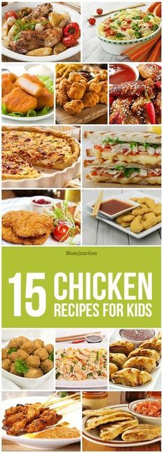 Are you looking for some healthy & tasty recipes to please your picky eater? If yes, then read on to know 15 dhealthy and delicious chicken recipes for kids