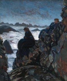 Antoine Bourdelle ( 1861- 1929 )Femmes sur des rochers, madame Van Parys et Cléo © Musée Bourdelle / Roger-Viollet