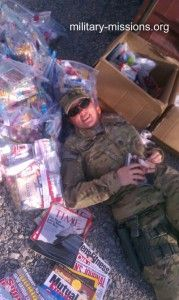 We love the effect our care packages have on our deployed troops!