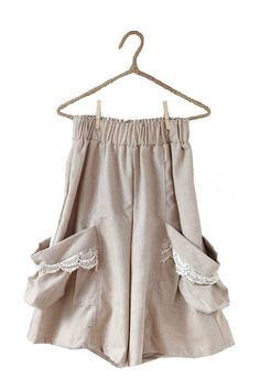 Photo  Mori girl skirt (love the low pockets' ;  easier to reach under tunics.