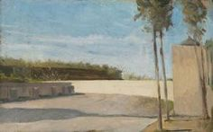 Raffaello Sernesi - Campagna Toscana