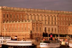 The Royal Palace in Stockholm, the official (but not actual) residence of the Swedish Royal Family