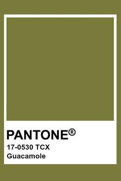 Pantone Guacamole