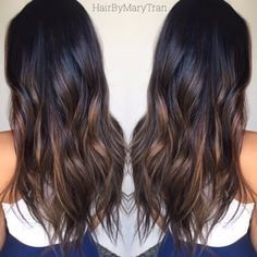 Chocolate subtle Ombre and blended haircut on Asian hair | Yelp