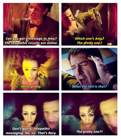 "Rory Williams, AKA The Nose, AKA Nina, AKA Mr Pond......but to me he will always be ""The Pretty One"""