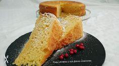 Paqui Jimenez y sus dulces creaciones: Bizcocho de leche condensada vainilla y naranja