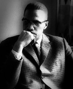 Malcolm X was a brilliant Black American intellectual activist who, in trying to draw Black people together is constantly misquoted as preaching violence. Not quite correct. I've heard the interviews. He was too clever to say anything outrightly stupid. Malcolm X, Black History Facts, Black History Month, Black Leaders, Civil Rights Leaders, By Any Means Necessary, Black Pride, Down South, 2pac