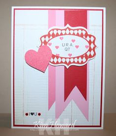 Card details:  Stamps: Labels4Cutting and Love2Hug from The {Stamps} of Life  Cardstock: Whisper White, Real Red, Pretty in Pink, Regal Rose and Basic Grey Basics White  Inks: Color Box by Stephanie Barnard- Strawberry and Regal Rose from SU  Embellishments: Kaiser Craft Silly Season Jewels, Fancy Labels #4 for Stephanie Barnard from Sizzix