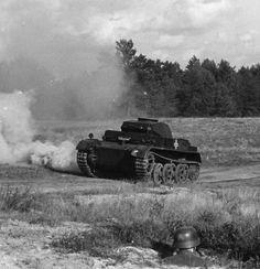 "Panzer II Ausf. L ,,Luchs"" during War Games."
