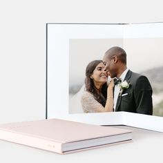 Layflat Photo Album Wedding Guest book that can be displayed for years.