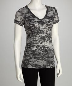 Look what I found on #zulily! Soffe Charcoal Tissue Tee by Soffe #zulilyfinds