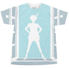 Peter Pan - t-shirt is created entirely from the text of a classic book