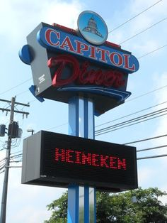 Capitol Diner in Harrisburg Pennsylvania - Serves up your classic diner fare, generous portions and they have affordable prices!
