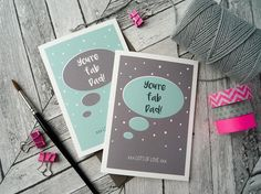 You're Fab Dad.....lots of love. By Bee Designs