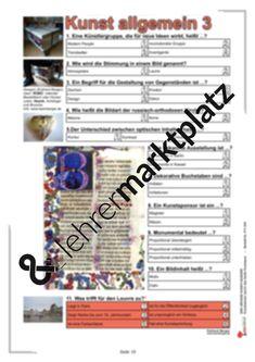 Arbeitsblatt: Einstieg in die Aquarellmalerei - Lavur | Kunst ...