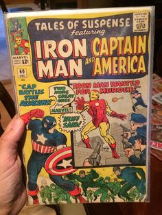 Iron Man Story, Tales Of Suspense, Iron Man Captain America, Silver Age, Hawkeye, Captain Marvel, Comics, Reading, Ebay