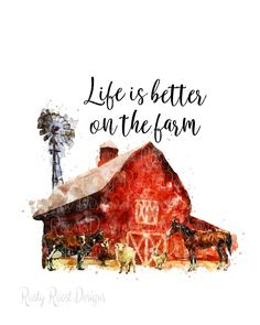 Farm Signs, Paint And Sip, Down On The Farm, How To Make Pillows, Farm Life, Farm House, Water Slides, New Hobbies, Used Books