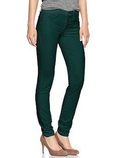 "1969 legging cords in ""tropic green"" 